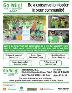 Go Wild! Youth for Conservation